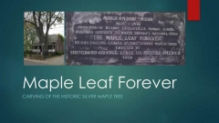 Maple Leaf Forever