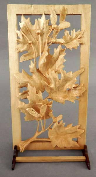 Maple Leaves by Gordon San