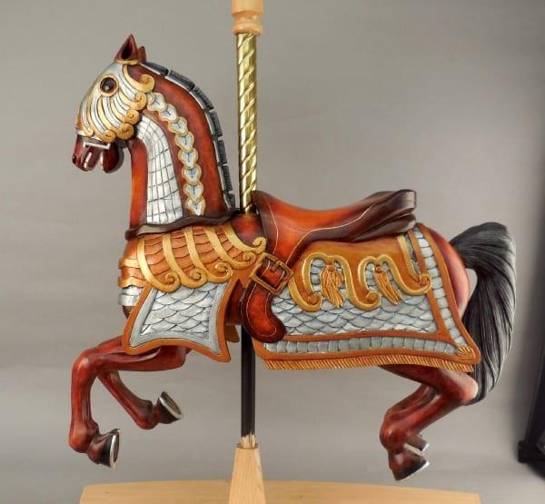 Carousal Horse by Doug Arthur