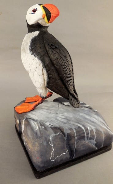 Atlantic Puffin by Harvey Boorne