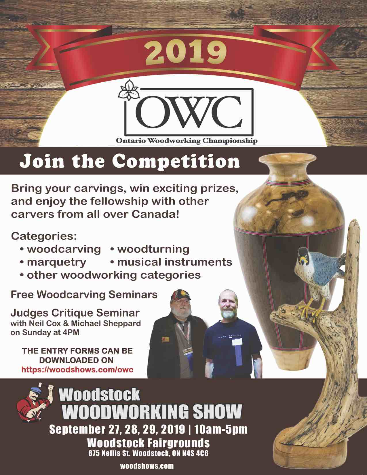 Competitions And Shows Ontario Woodcarver S Association