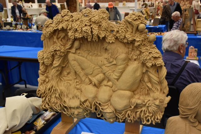 Carving by Joe Dampf