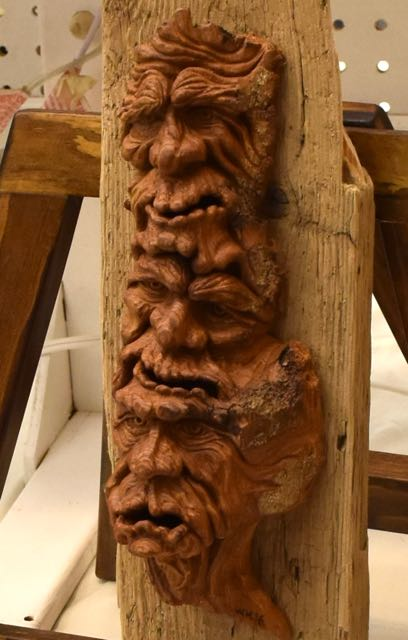Carving by Bill Hamilton